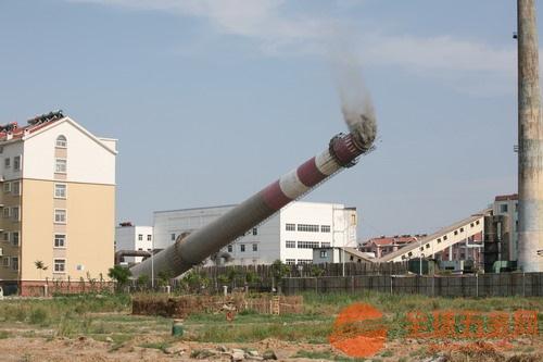 莱州承接烟囱刷色环工程