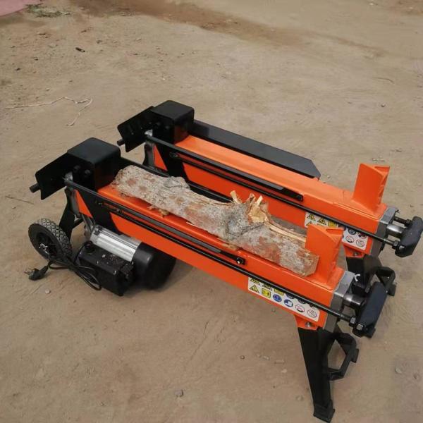 立式劈木机