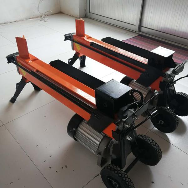 卧式劈柴机 家用劈柴机 大推力液压劈木机 十字刀劈木机