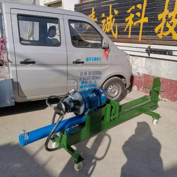 液压油缸式劈木机