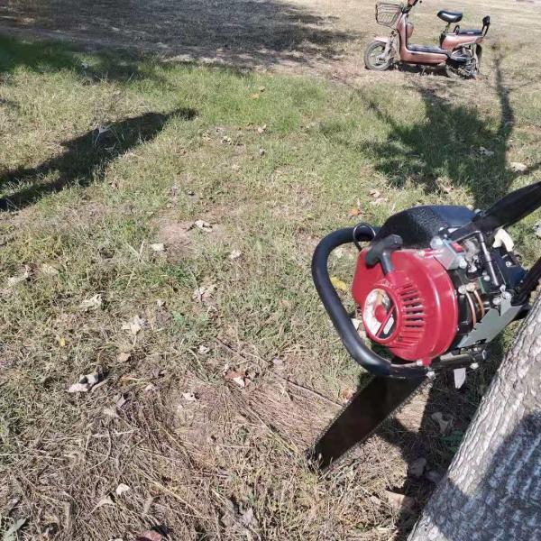 鋸齒式輕便移苗挖樹機 鏈條式起樹移苗機