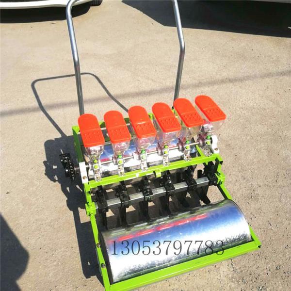 自走油菜播种机 电动多行蔬菜播种机颗粒精播机