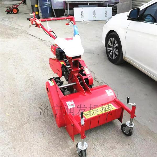 汽油玉米秸秆灭茬机 柴油动力手推碎草还田机