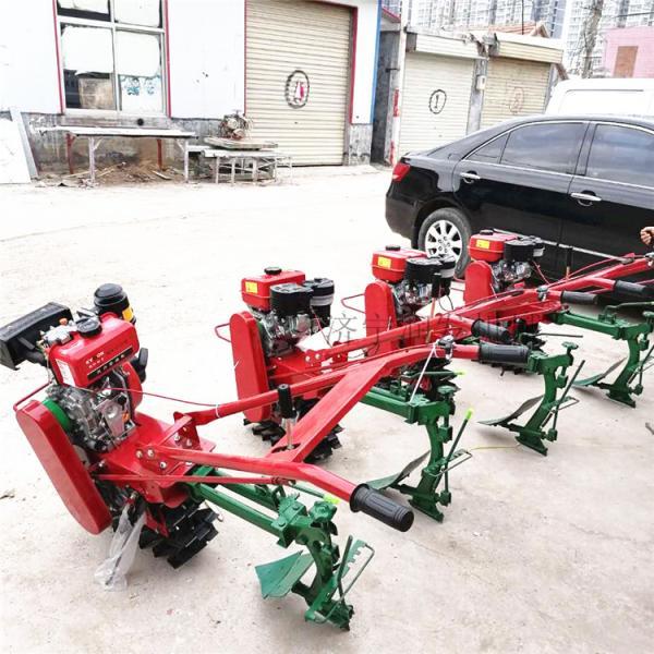 供应汽油链轨施肥播种犁地机 独轮趟地链轨开沟机