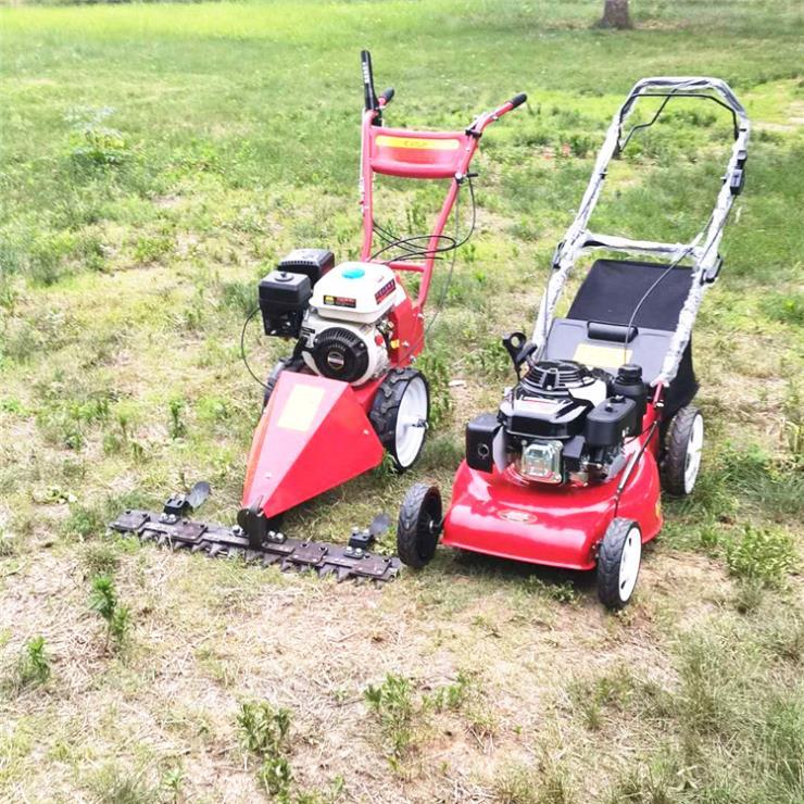草坪修剪机 20寸汽油剪草机 苗圃杂草高矮剪草机