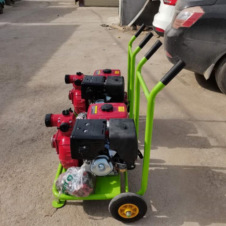 3寸汽油自吸泵 农用柴油抽水机 高扬程园林灌溉机