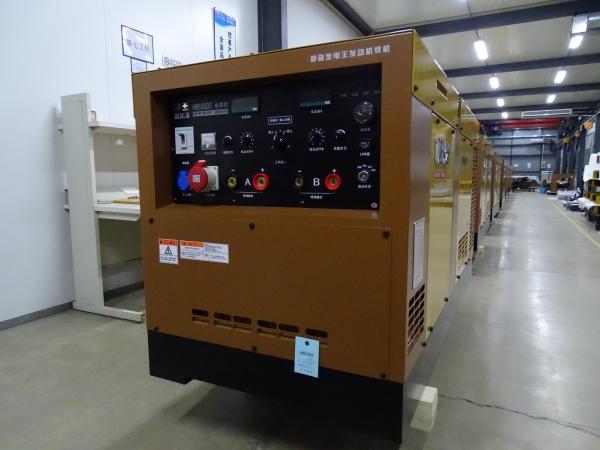 北京电王柴油发电电焊机HW600DS