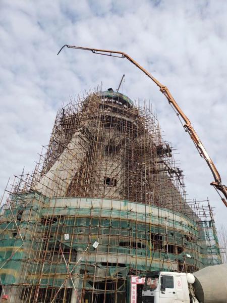 烟囱新建与钢结构制作