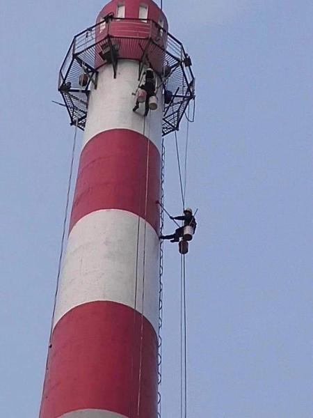 铜川烟囱刷油漆
