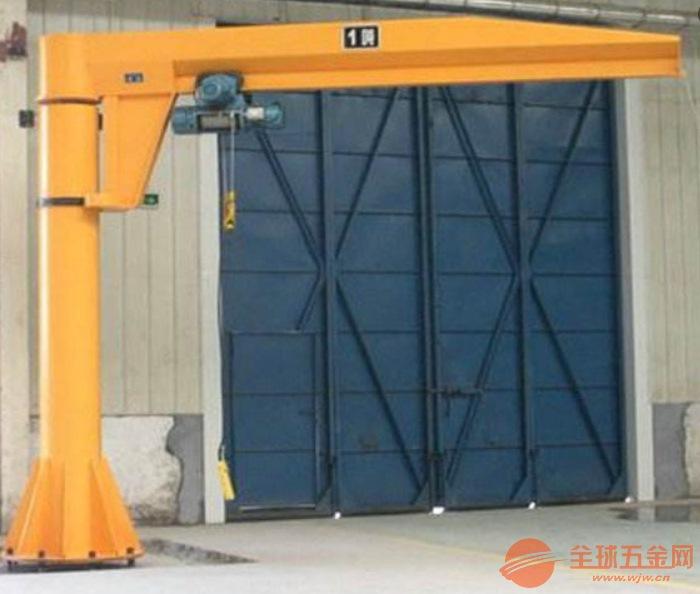 登封市BZD型2吨定柱式悬臂吊起重机定制厂家