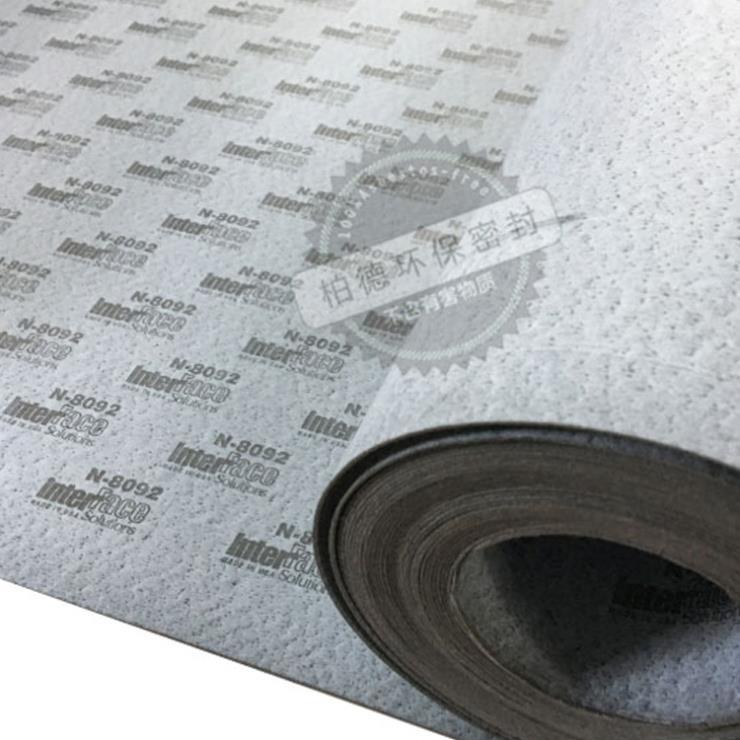 美国interface 进口耐油纸垫片 N8090/8092 PF4N