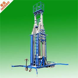 工厂高空作业铝合金六柱式升降机