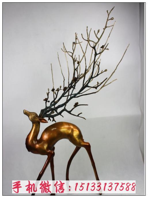 酒店装饰品雕塑 动物铜雕塑