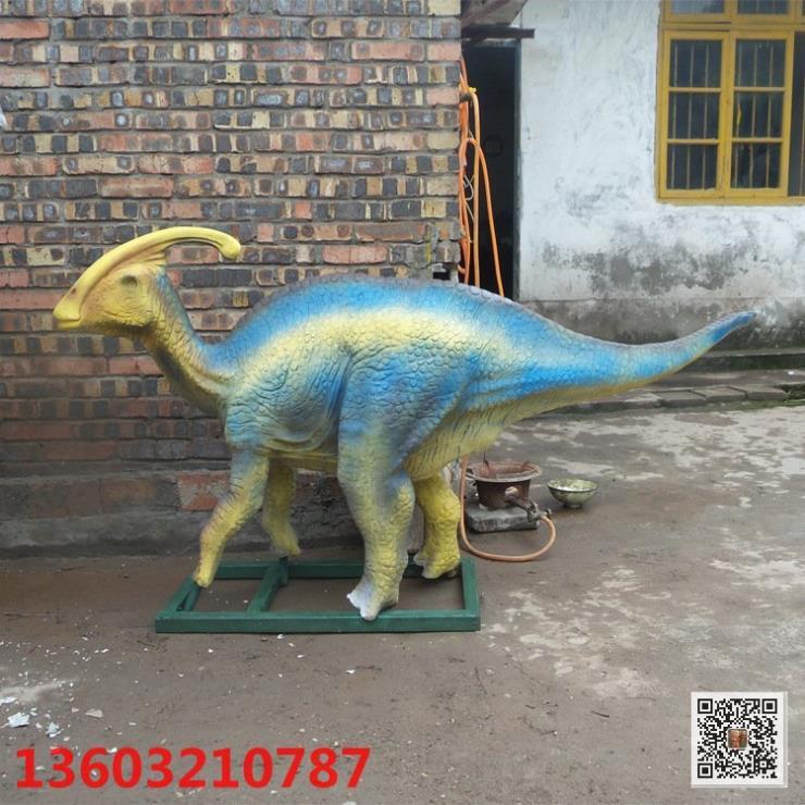 玻璃钢恐龙雕塑 仿真恐龙雕塑 环球雕塑