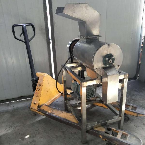眉山1吨不锈钢破碎榨汁一体机 牧泰供应