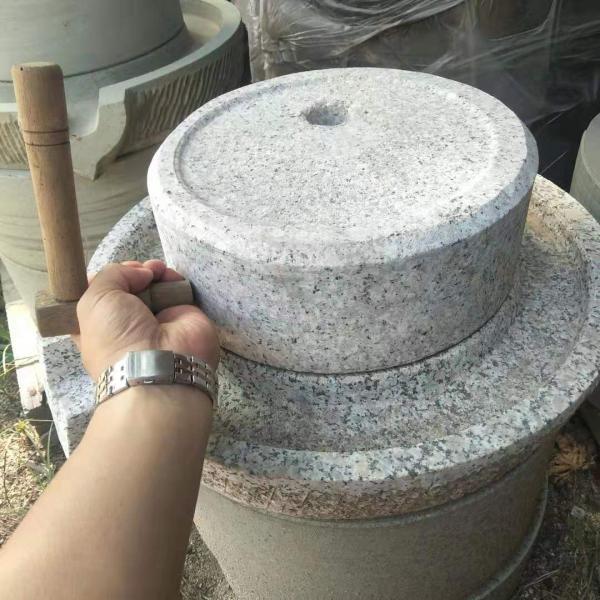 郑州鲜玉米木架石磨机 物流发货
