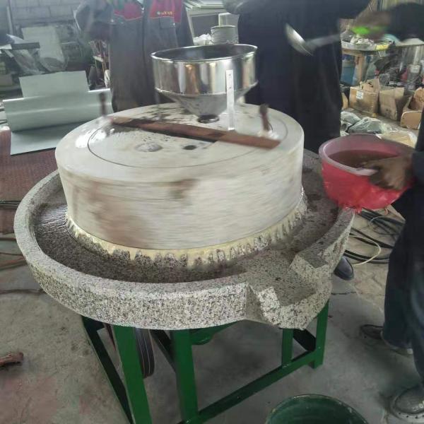 大连麦麸分离电动石磨机加工定做
