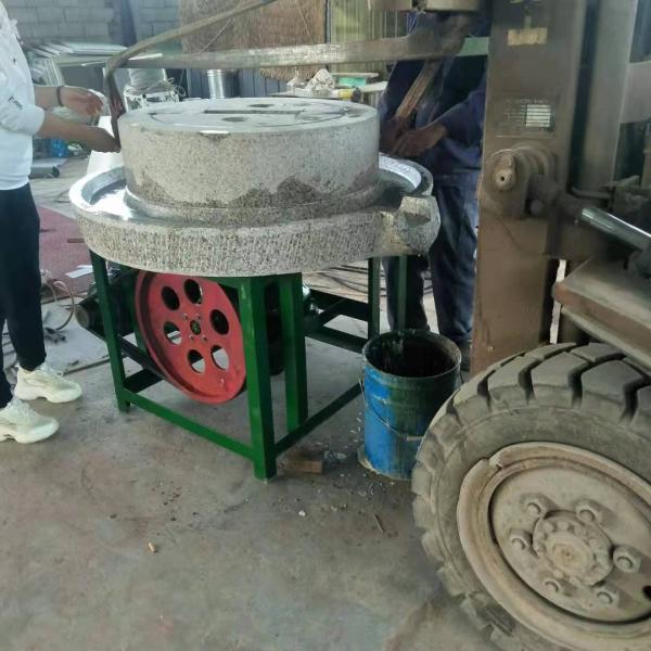 宁波商用流动花生酱电动石磨机多少钱
