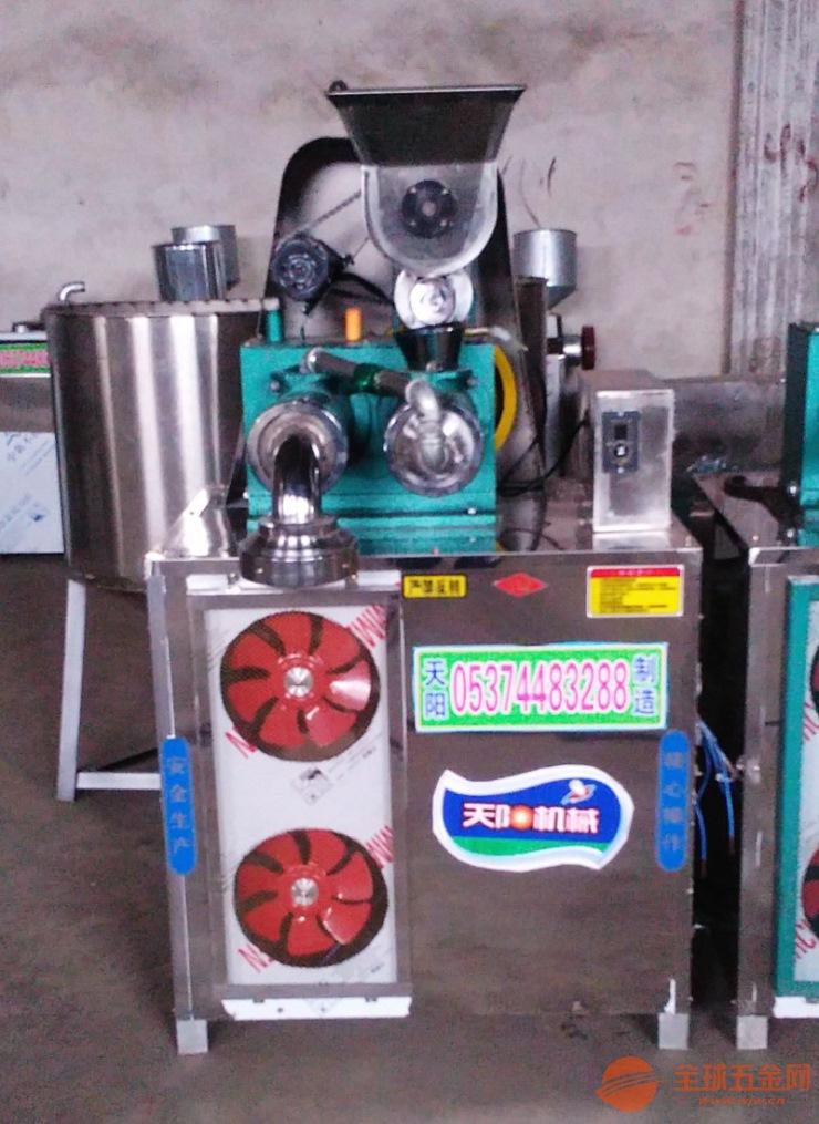 双螺杆自熟冷面机钢丝��面机杂粮面条机厂家