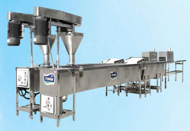 自动化一体火锅土豆粉机粉耗子机生产线