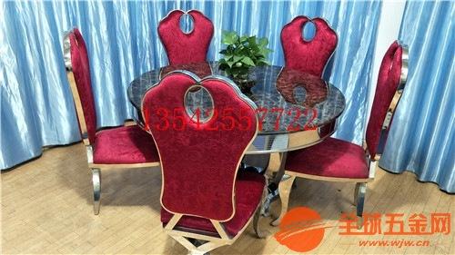 上海家用不锈钢餐桌椅加工批发厂家大量现货质量稳定