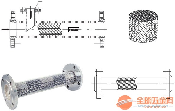 苏州SH型静态混合器专业批发销售安全放心
