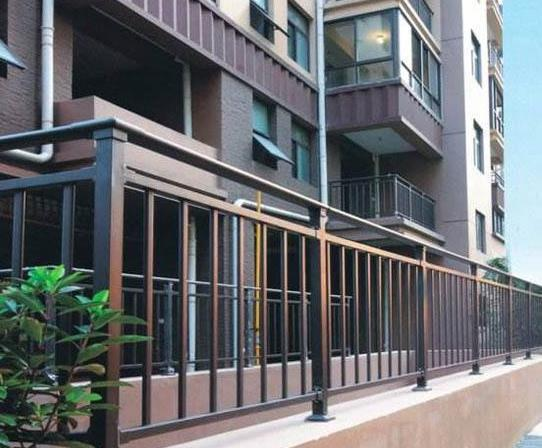乐清铝合金阳台护栏来图定制