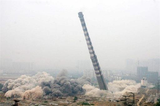 岗巴县烟囱拆除公司