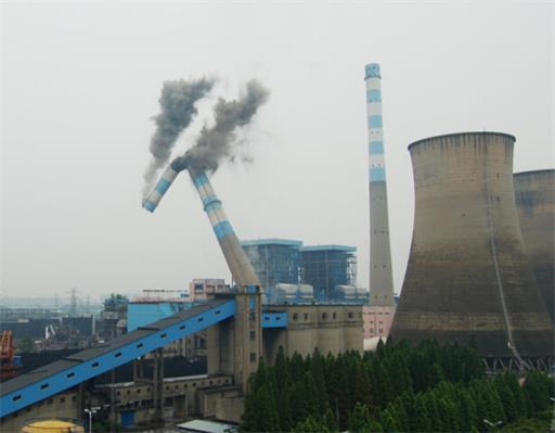 吉木乃县烟囱拆除