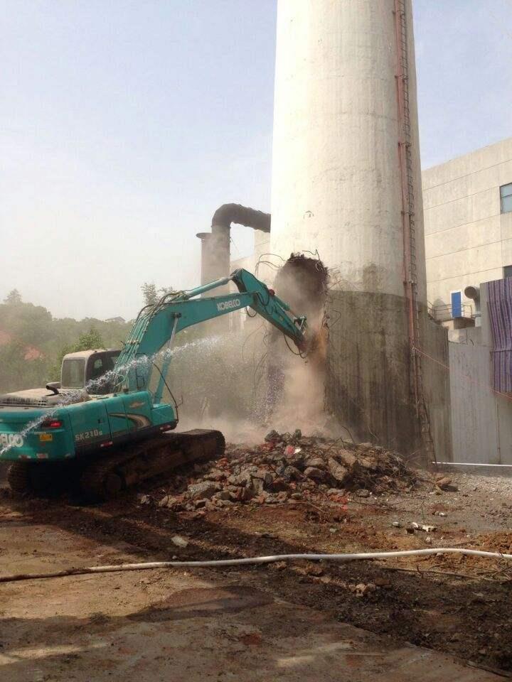安徽省亳州市磚煙囪拆除單位