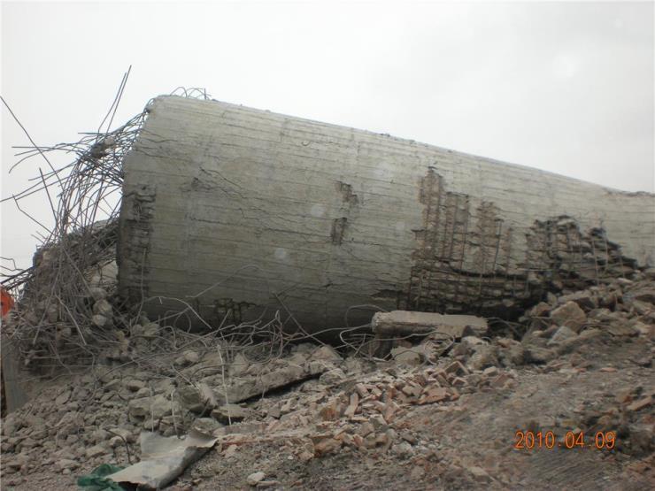 湖南娄底烟囱拆除施工单位