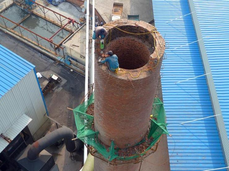 乐山市钢烟囱拆除单位