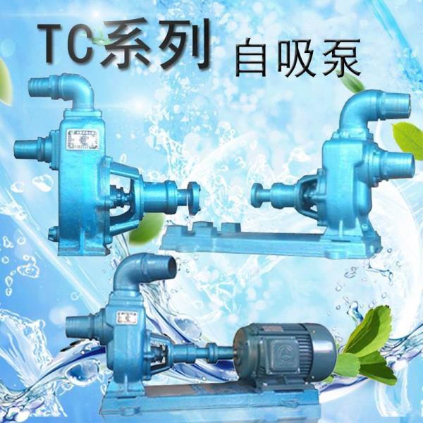 4TC-25花园喷灌增压泵4寸自吸泵