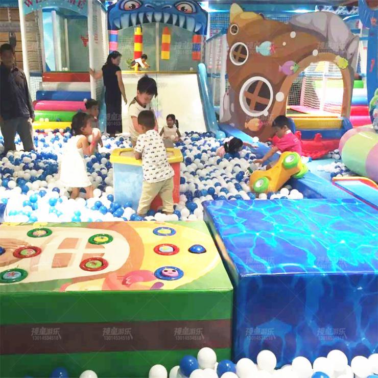 专业设计规划室内主题乐园儿童游乐场