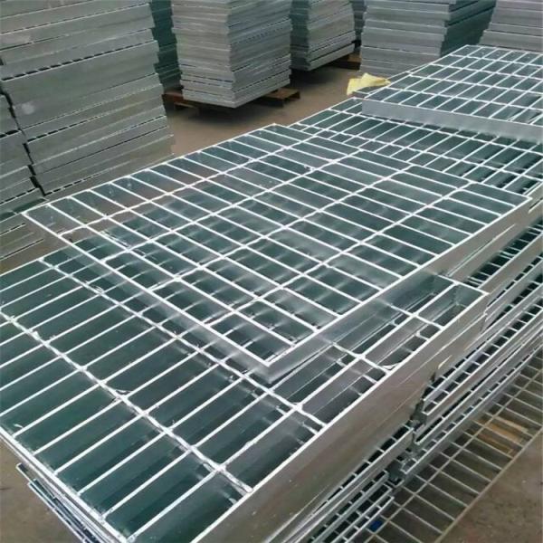 污水厂镀锌金属钢格板 防滑热浸锌金属钢格栅沟盖板