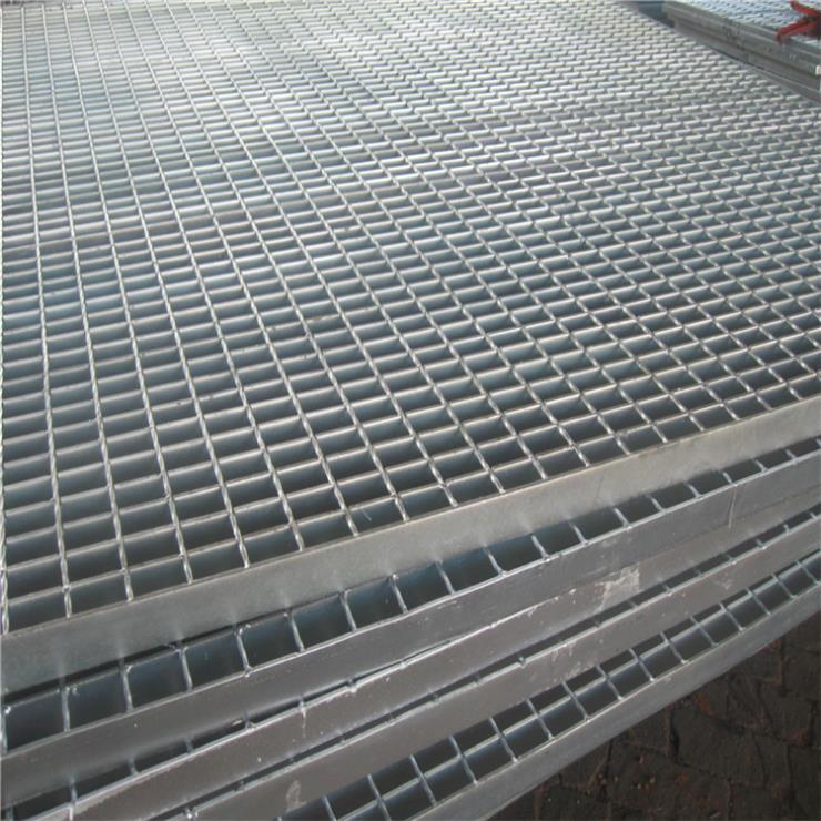 钢结构金属钢格板 山东热浸锌金属钢格栅脚踏板批发