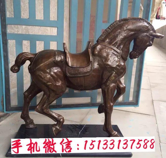 小区铜马雕塑,地产铜马动物雕塑厂家制作
