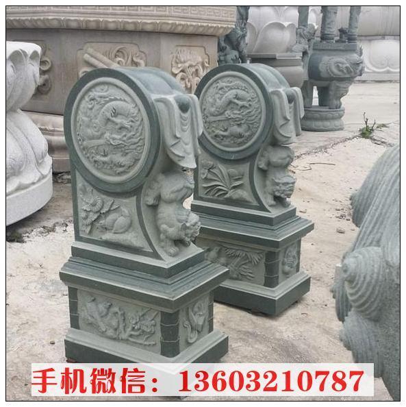 石狮子门墩雕塑 门墩石雕塑