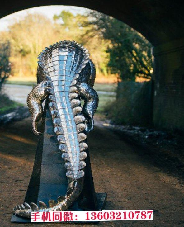 辽宁省不锈钢动物雕塑 各种动物来图定制