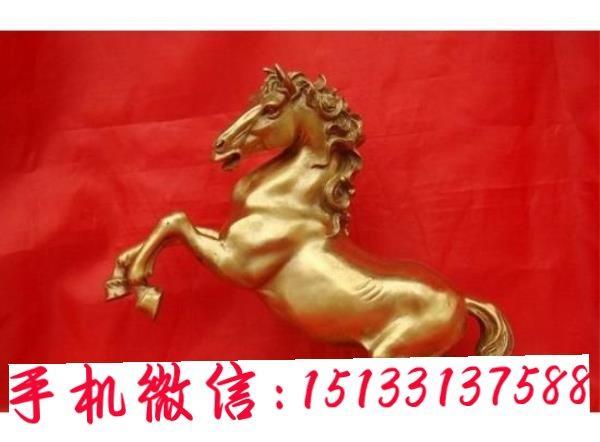 上海润景雕塑公司 奔跑铜马雕塑 铜马工艺品