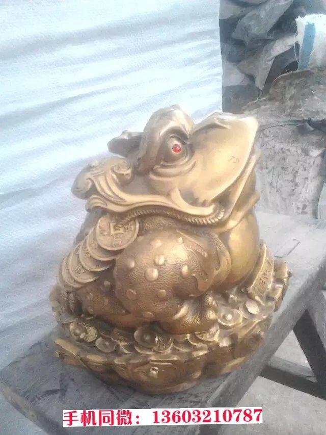 送财金蝉铜雕,招财铜金蝉,金属工艺品