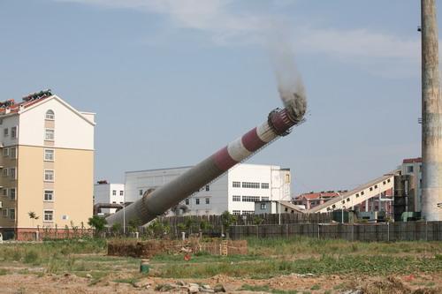 东莞混凝土烟囱拆除公司