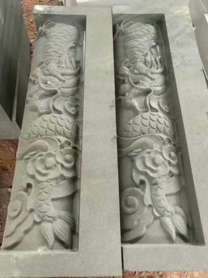 双头龙柱石材雕刻机