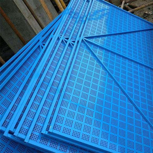 渭南爬架网 镀锌铁板网 冲孔防护网厂家