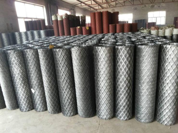 黑龙江建筑钢板网@用作灰泥衬底有黏着力强