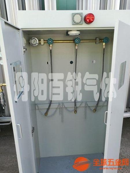 济南氢气带气瓶柜汇流排销往全国信誉保证