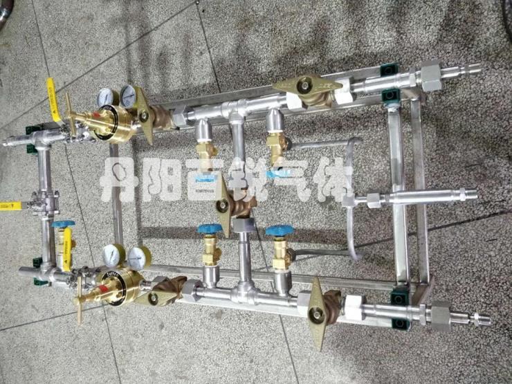 力高阀带减压装置氢气汇流排