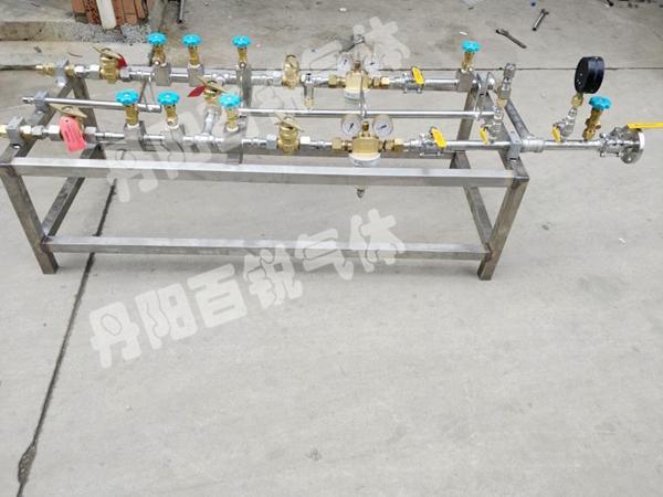 台州工业氢气排管车氢气减压装置厂家样式多价格透明