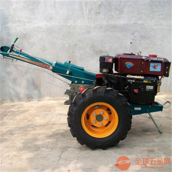 拖拉机手扶12马力农用手扶带旋耕机