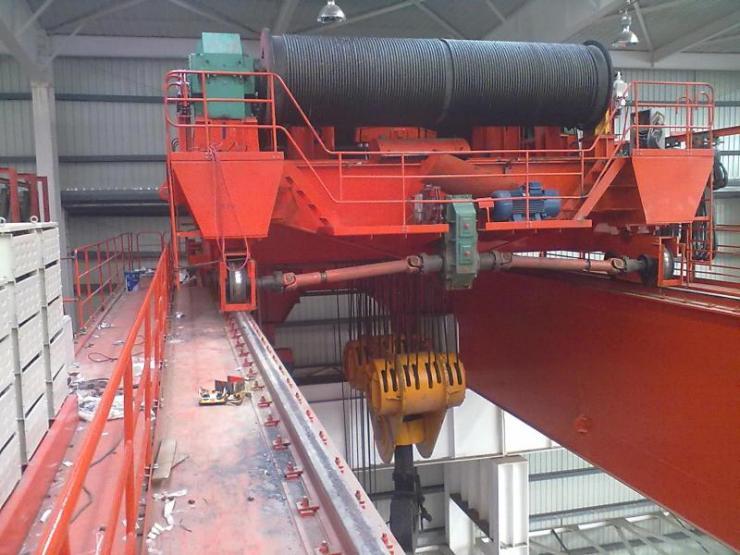 9吨龙门式起重机轮胎吊√32吨桥机
